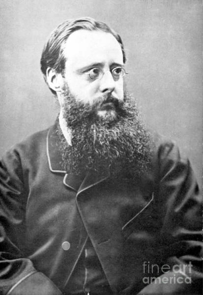 Collin Photograph - William Wilkie Collins (1824-1889). English Novelist. Photographed In 1865 by Granger