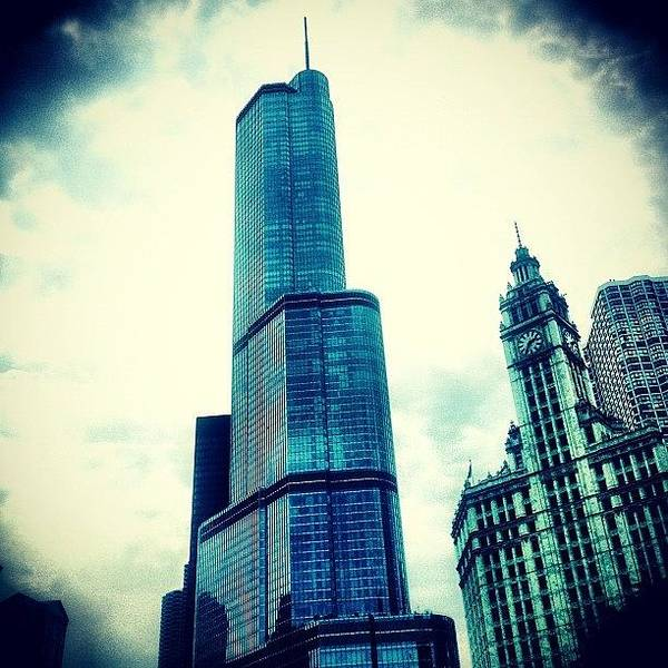 Superhero Wall Art - Photograph - Willis Tower In #chicago by The Fun Enthusiast
