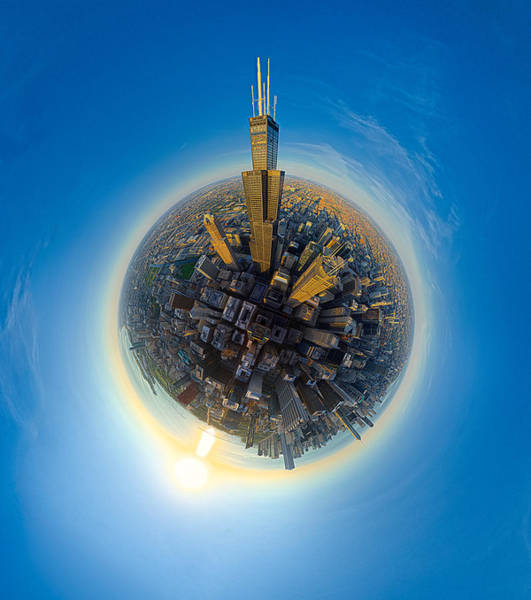 Photograph - Willis Tower  by Robert Harshman