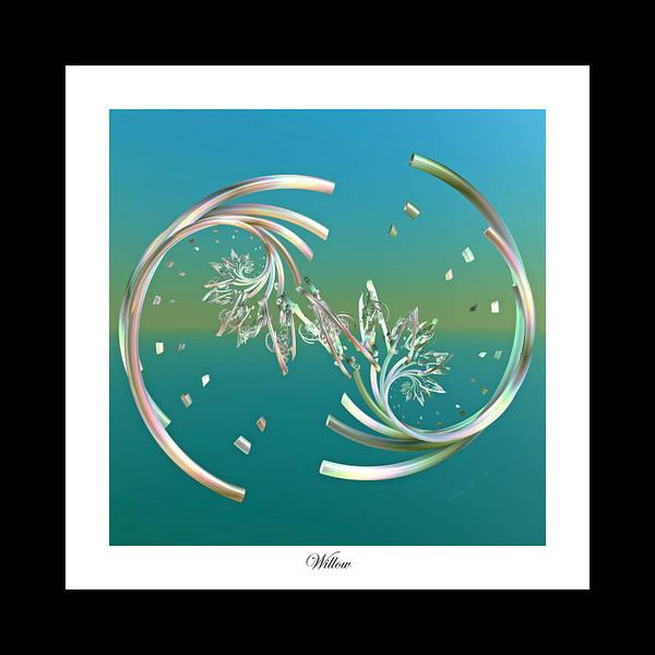 Create Digital Art - Willow by Betsy Knapp