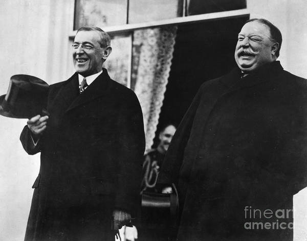 Photograph - Wilson & Taft, 1913 by Granger
