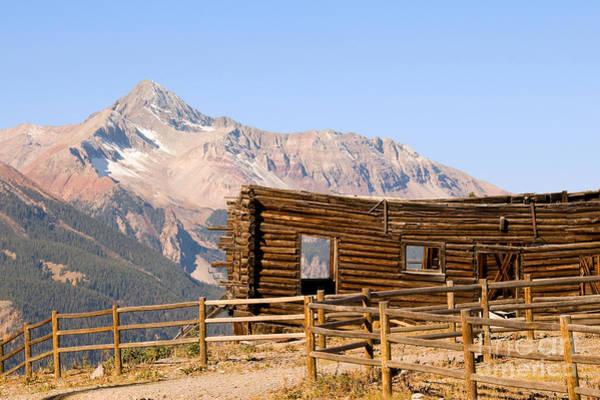 Photograph - Wilson Peak by Steve Stuller