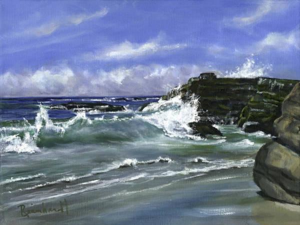 Wall Art - Painting - Wind And Sea II by Lisa Reinhardt