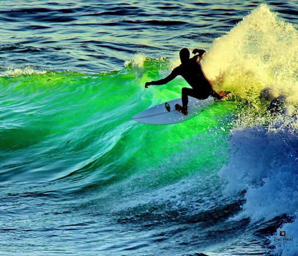 Windansea Surfer Art Print