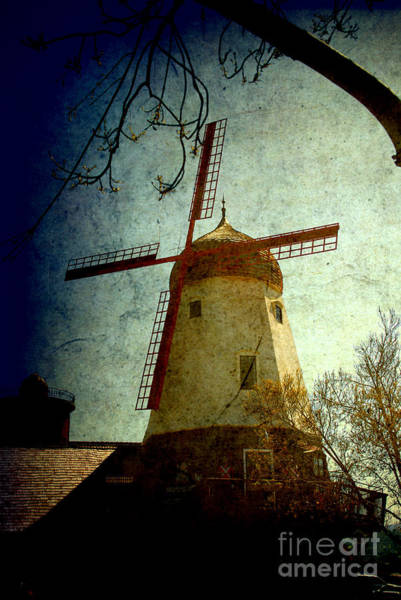Photograph - Windmill In Solvang California by Susanne Van Hulst
