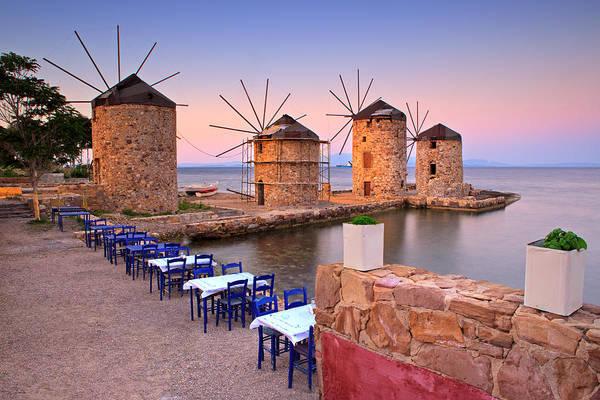 Photograph - Windmills 2  by Emmanuel Panagiotakis