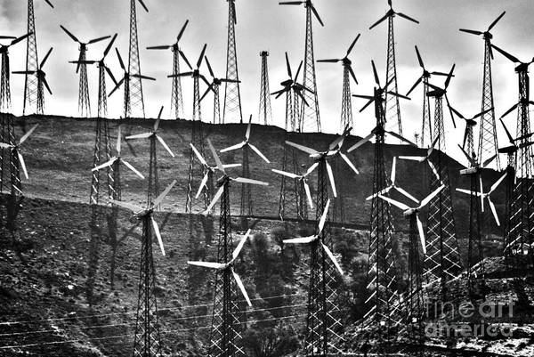 Photograph - Windmills By Tehachapi  by Susanne Van Hulst