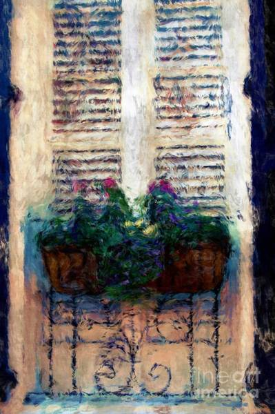 Photograph - Window Box 2 by Donna Bentley