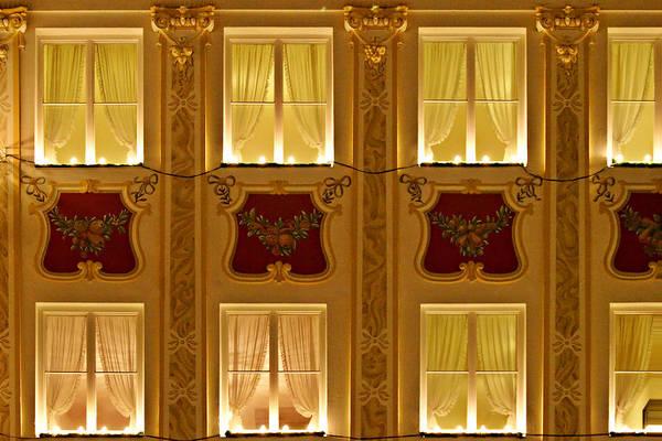Weihnachten Photograph - Window Candles Nostalgia by Christine Till