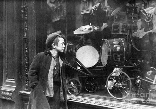 Photograph - Window Display, C1910 by Granger