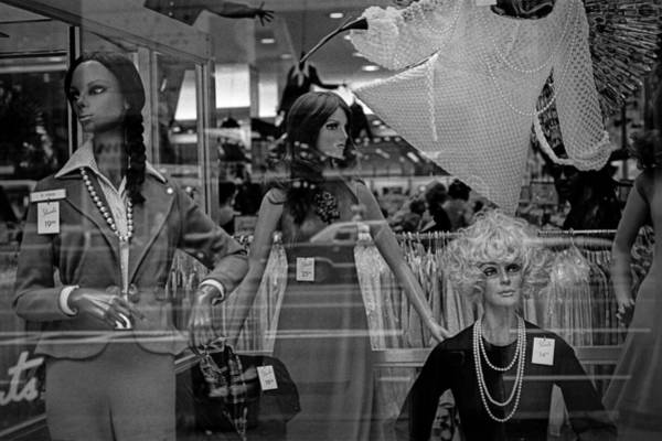 Photograph - Window Display With Mannequins In Chicago No.1973.2 by Randall Nyhof