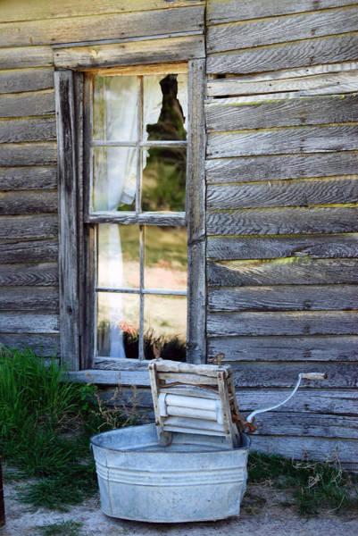 Window On Prairie Life Art Print
