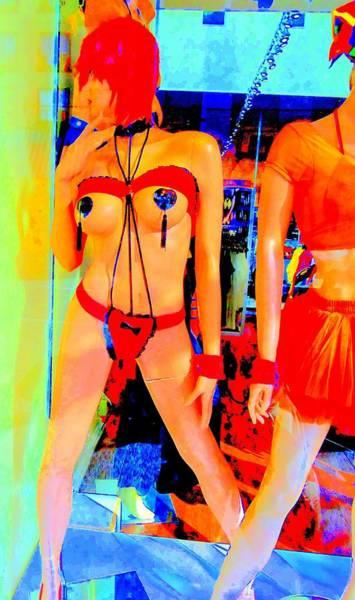 Window Dressing Wall Art - Photograph - Window Shopping The Stripper by Randall Weidner