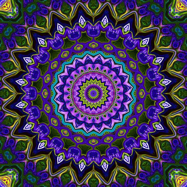 Psychedelia Digital Art - Window To Soul No. 2 by Joy McKenzie