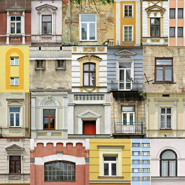 Wall Art - Photograph - Windows by Jaroslaw Grudzinski