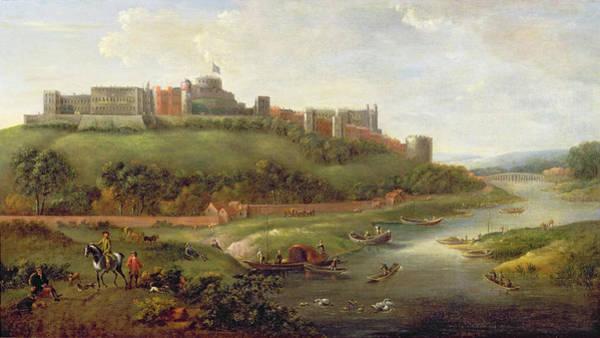 Windsor Wall Art - Painting - Windsor Castle by Hendrick Danckerts