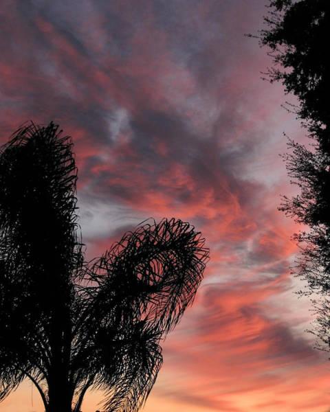 Windswept Clouds Art Print
