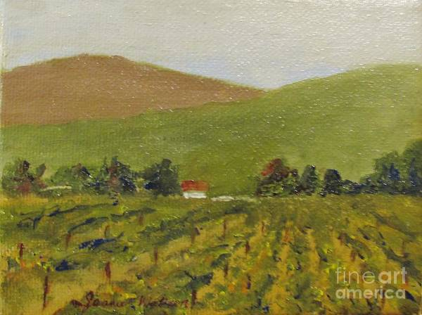 Painting - Wine Time by Jeanie Watson