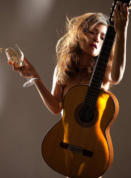 Wall Art - Photograph - Wine Women And Song by Dario Infini