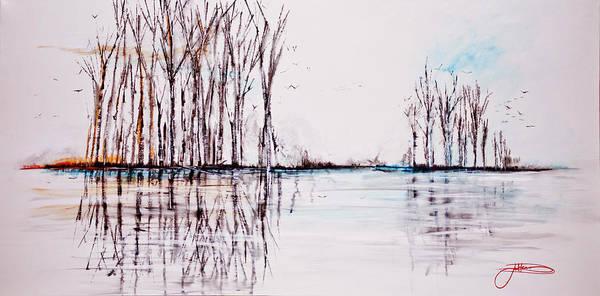 Painting - Winter Flight by Jack Diamond