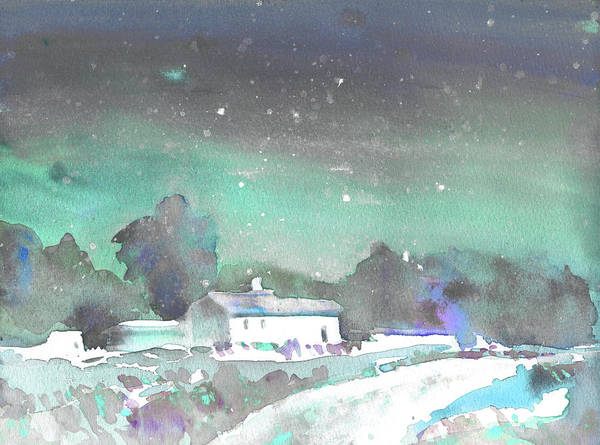 Painting - Winter On Planet Goodaboom by Miki De Goodaboom
