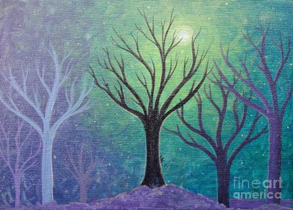 Painting - Winter Solitude 3 by Jacqueline Athmann