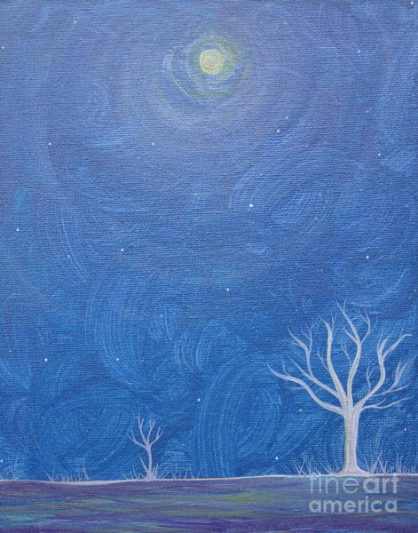Painting - Winter Solitude 5 by Jacqueline Athmann