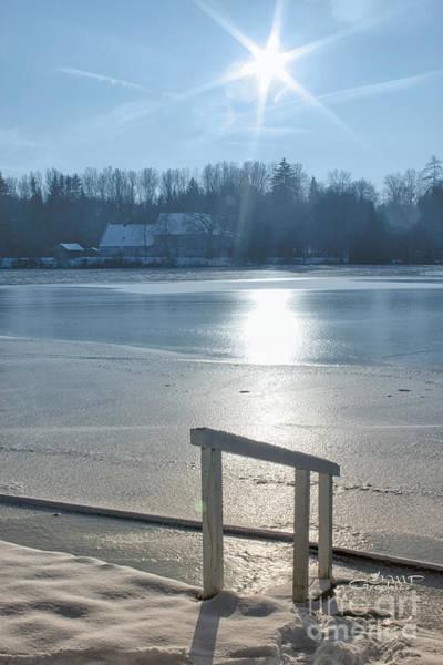 Photograph - Winter Sun At The Lake by Jutta Maria Pusl