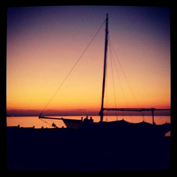 Grace Wall Art - Photograph - Winter Sunset In Whitstable by Grace Bryant