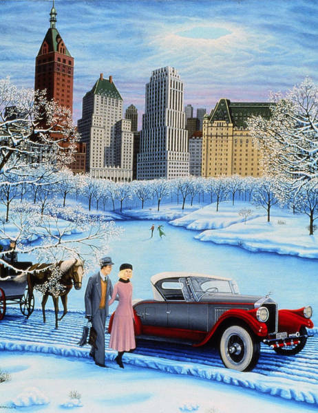 Painting - Winter Wonderland by Tracy Dennison