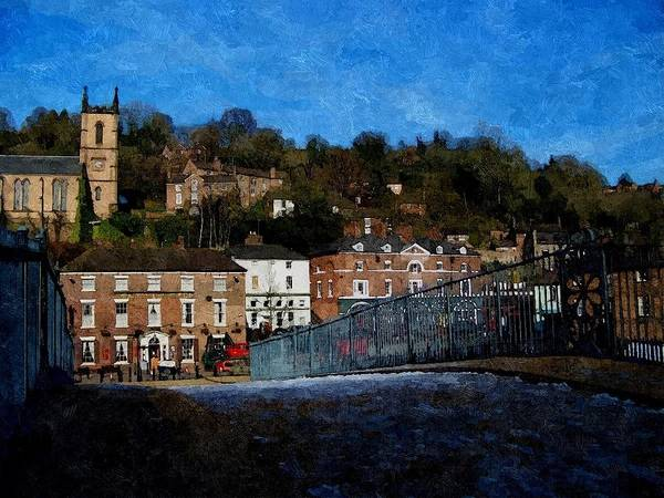 Photograph - Wintry Ironbridge by Sarah Broadmeadow-Thomas