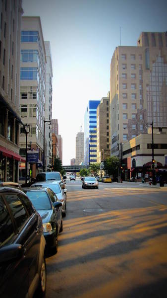 Photograph - Wisconsin Avenue 2 by Anita Burgermeister