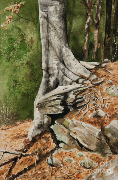 Wishing Tree Art Print by Carla Dabney