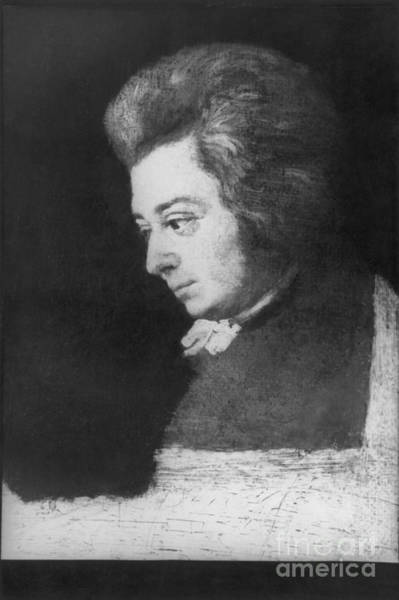 Choral Wall Art - Photograph - Wolfgang Amadeus Mozart, Austrian by Omikron