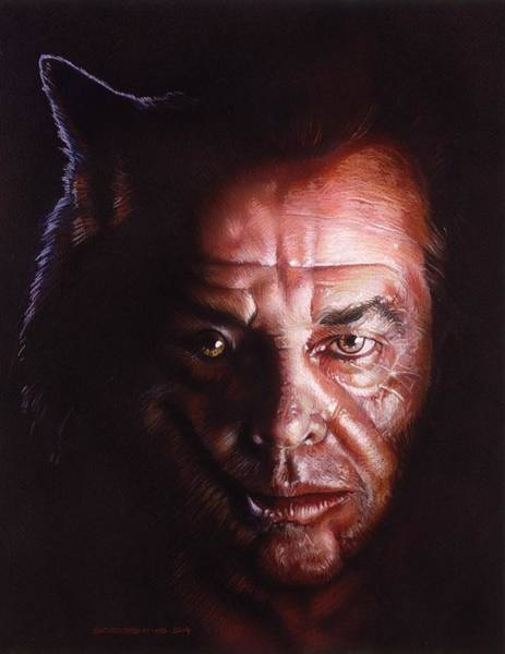 Wall Art - Painting - Wolfjack by Timothy Scoggins