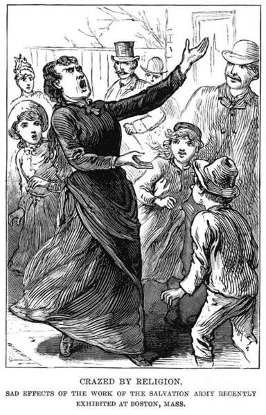 Wall Art - Photograph - Woman Preaching, 1888 by Granger
