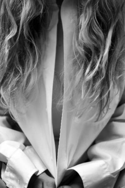 Blonde Photograph - Woman by Stelios Kleanthous