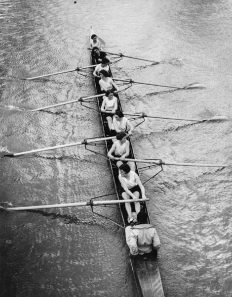 Rowing Wall Art - Photograph - Women's Rowing by William Wanderson