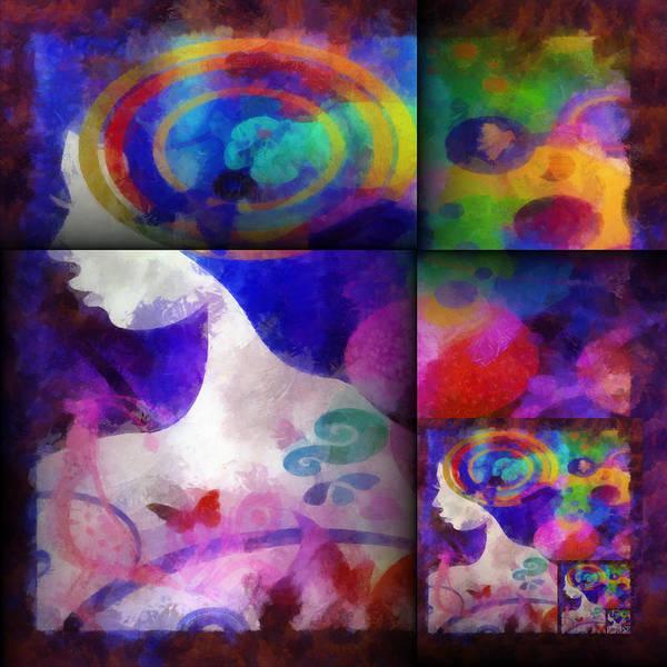 Digital Art - Wondering 1 by Angelina Tamez