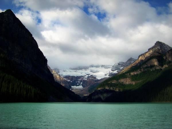 Photograph - Wonderland Of Lake Louise by Karen Wiles