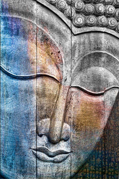 Statue Wall Art - Photograph - Wooden Buddha by Carol Leigh