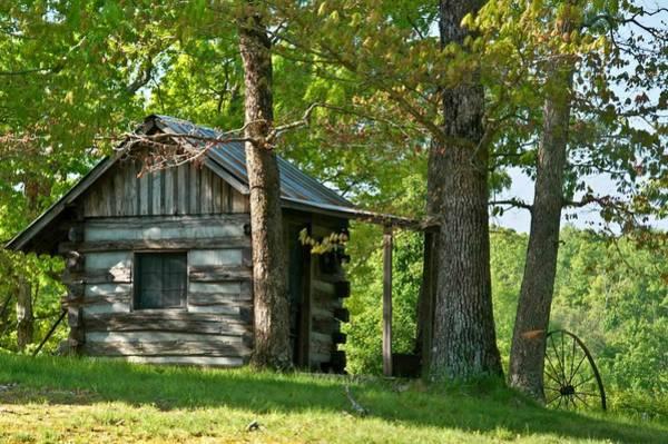 Crossville Wall Art - Photograph - Woodland Cabin 1 by Douglas Barnett
