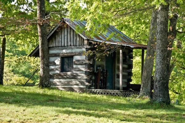 Crossville Wall Art - Photograph - Woodland Cabin 2 by Douglas Barnett
