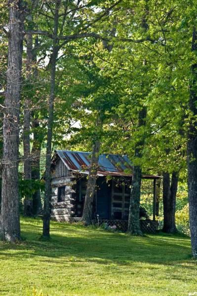 Crossville Wall Art - Photograph - Woodland Cabin 3 by Douglas Barnett