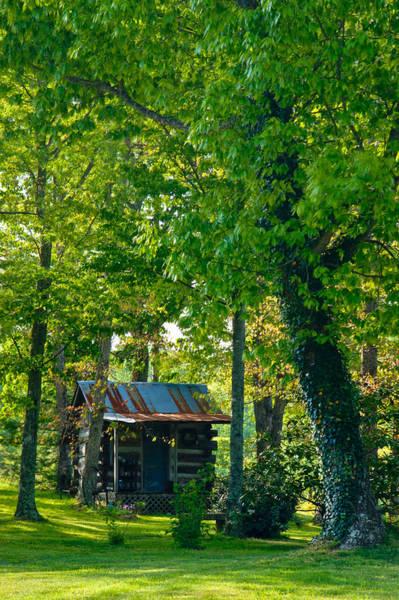 Crossville Wall Art - Photograph - Woodland Cabin 4 by Douglas Barnett