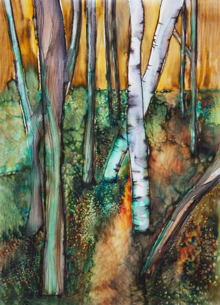 Tara Painting - Woods by Tara Thelen