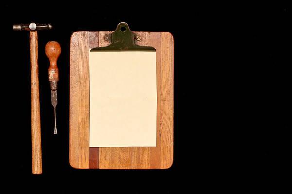 Wall Art - Photograph - Work Tools by Tom Gowanlock