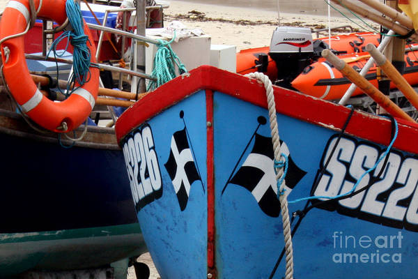 Sennen Cove Photograph - Working Harbour by Terri Waters