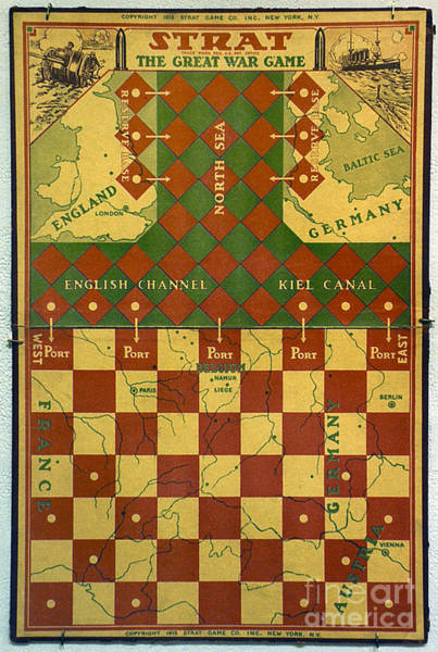 Photograph - World War I: Board Game by Granger