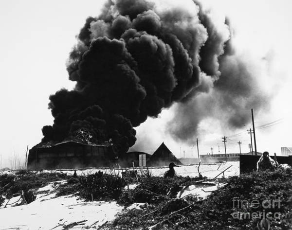 Photograph - World War II: Midway, 1942 by Granger